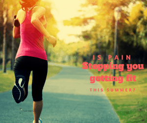 Is foot pain stopping exercise?