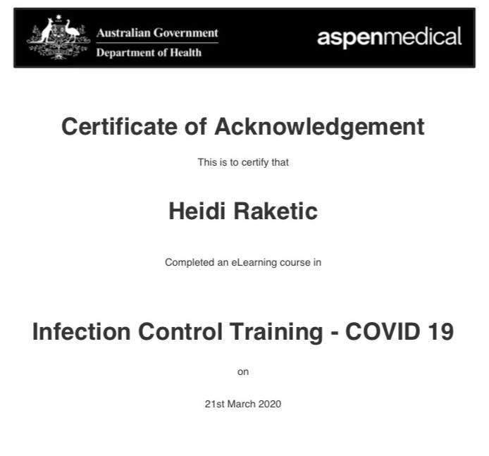 COVID-Training-Heidi-Raketic