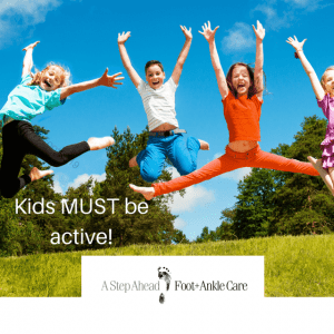 Kids Foot pain can stop healthy development to adulthood
